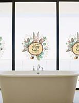 Animais Floral/Botânico Desenho Animado Adesivos de Parede Autocolantes de Aviões para Parede Autocolantes de Parede Decorativos Material