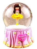 Balls Music Box Toys Round Female 1 Pieces