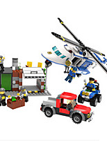 Building Blocks For Gift  Building Blocks Helicopter Plastics 6 Years Old and Above Toys