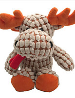 Stuffed Toys Elk Plush Fabric