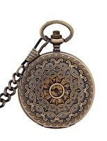 Men's Pocket Watch Automatic self-winding Alloy Band Bronze