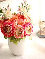 1 Филиал Пластик лотос Pастений Букеты на стол Искусственные Цветы