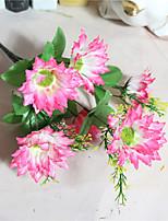 1 Pièce 1 Une succursale Polyester Marguerites Guirlande et Fleur Murale Fleurs artificielles