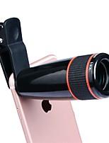 Apexel apl-12cx3 lente do telefone celular 12x telefoto 180 olhos de peixes 0.65x grande angular 10x câmera externa macro