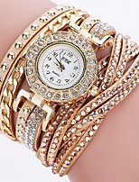 XU Women's Luxurious Elegant Quartz Diamonds Bracelet Watch