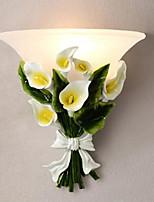 Europischen Stil moderne kreative Wand Lampe Wand Lampe Nachttischlampe Wohnzimmer Balkon Gartenblumen led Wandleuchte