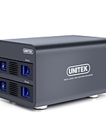 Unitek y-3355 usb3.0 to sata3 data hold black double hard box