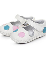 Baby Flats Comfort First Walkers Fall Pigskin Casual White Flat