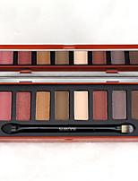 Paleta de Sombras de Ojos Seco Paleta de sombra de ojos Maquillaje de Diario Maquillaje de Fiesta