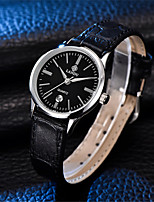 Women's Fashion Watch Quartz Water Resistant / Water Proof Genuine Leather Band Black