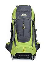 Unisex Sports & Leisure Bag Nylon All Seasons Sports Outdoor Climbing Weekend Bag Zipper Red Sky Blue Orange Green 40-50