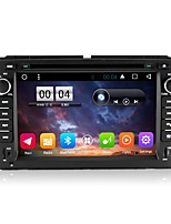 2 Din Capacitive touch LCD Car DVD Player android 6.0 For GMC 2007-2013