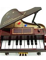 музыкальная шкатулка Игрушки Пианино Предметы интерьера Универсальные Куски