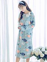 Pyjama Flanelle de Laine Femme