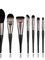 8 pcs Contour Brush Makeup Brush Set Blush Brush Eyeshadow Brush Brow Brush Concealer Brush Powder Brush Foundation Brush Synthetic Hair