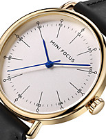 Муж. Спортивные часы Модные часы Наручные часы Уникальный творческий часы Повседневные часы Японский Кварцевый Натуральная кожа Группа С