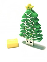 16gb christmas usb flash drive dessin animé créatif arbre de noël christmas gift usb 2.0
