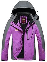 Women's Cycling Jacket Windproof Rain-Proof Waterproof Zipper Wearable Breathability Waterproof Full Length Visible Zipper Woman's Jacket