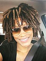 Afro Kinky Tresses Tresse Natté Bouncy Curl Afro JheriCurl Boucle Toni Tresses au Crochet Bouclé 100% cheveux kanekalon Cheveux 100 %