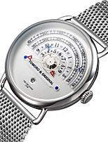 Hombre Mujer Reloj Militar Reloj de Moda Reloj de Pulsera Japonés Cuarzo Calendario Cronógrafo Resistente al Agua Punk Esfera Grande