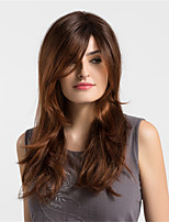 Women Synthetic Wig Capless Long Very Long Loose Wave Copper Brown Ombre Hair Natural Wigs Costume Wigss
