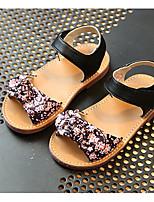 Girls' Sandals Comfort Summer PU Casual Blushing Pink Black Flat