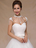 Women's Wrap Capelets Pearl Wedding Party/ Evening Pearl