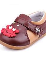 Girls' Flats Comfort Spring Fall Real Leather Casual Royal Blue Brown Coffee Flat