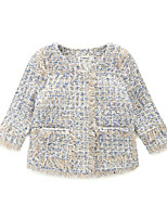 Girls' Others Suit & Blazer,Polyester Fall Winter Long Sleeve
