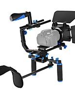 andoer tp-65 lega di alluminio testa di trascinamento testa testa idraulica testa treppiede tridimensionale 360 riprese panoramiche per