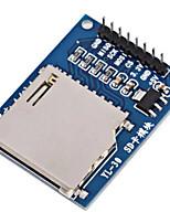 Модуль чтения diy sd для чтения карт предназначен для официальных плакатов arduino, совместимых с 3.3v 5v