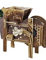 Music Box Toys Novelty Windmill Retro Furnishing Articles Unisex Pieces
