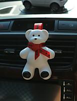 автомобиль воздух выход решетка духи красная лента милый большой медведь встреча аромат океан аромат автомобильный очиститель воздуха