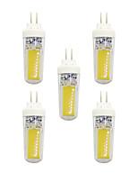 3W LED Doppel-Pin Leuchten T 2 COB 240 lm Warmes Weiß Weiß AC 220-240 V G4