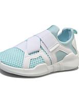 Для женщин Обувь Тюль Весна Лето Удобная обувь Кеды С Назначение Повседневные Белый Черный Красный Синий