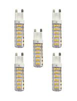 4.5W LED à Double Broches T 76 SMD 2835 360 lm Blanc Chaud Blanc AC 100-240 V G9