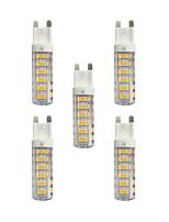 4.5W LED Doppel-Pin Leuchten T 76 SMD 2835 360 lm Warmes Weiß Weiß AC 220-240 V G9