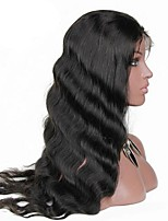Women Human Hair Lace Wig Lace Front 130% Density With Baby Hair Body Wave Wigs Brazilian Black Short Medium Long Natural Hairline