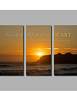 Canvas Print AbstractThree Panels Canvas Horizontal Print Wall Decor For Home Decoration