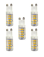 3W Luces LED de Doble Pin T 51 SMD 2835 240 lm Blanco Cálido Blanco AC 100-240 V G9