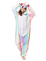 Кигуруми Пижамы Unicorn трико/Комбинезон-пижама Фестиваль / праздник Нижнее и ночное белье животных Хэллоуин Розовый Животное Кигуруми Для