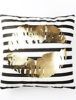 1 pcs Cotton Pillow Cover,Check printing Striped Patterned Fashion