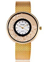 Women's Dress Watch Fashion Watch Simulated Diamond Watch Japanese Quartz Alloy Band Charm Luxury Elegant Casual Silver Gold Rose Gold