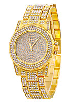 Women's Fashion Watch Wrist watch Pave Watch Quartz Stainless Steel Band Cool Casual Silver Gold Rose Gold