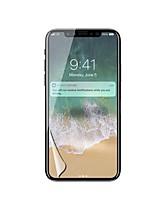 PET Protector de pantalla para Apple iPhone X Protector de Pantalla Frontal Alta definición (HD)