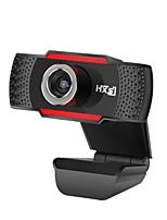 hxsj s20 webcam de câmera 0.3 megapixel hd com microfone