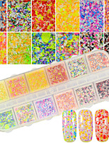 Surface Mounted Holiday Decorations Sequins Powder 3-D DIY Supplies Nail Salon Tool Hand Rests