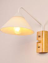8 E27 Простой Модерн Деревенский Особенность for Мини,Рассеянный настенный светильник