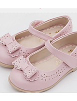 Girls' Flats Comfort First Walkers Summer Real Leather Casual Light Pink Light Blue Gold Flat