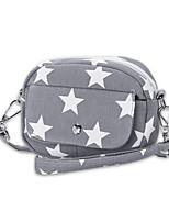 Damen Taschen Ganzjährig Leinwand Handgelenk-Tasche mit für Einkauf Normal Blau Schwarz Rote Dunkelblau Grau